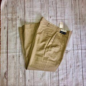 Ralph Lauren Siena linen blend pants tan size 36